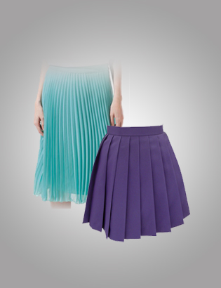 IRONING - Skirt (Pleated- All Sizes)